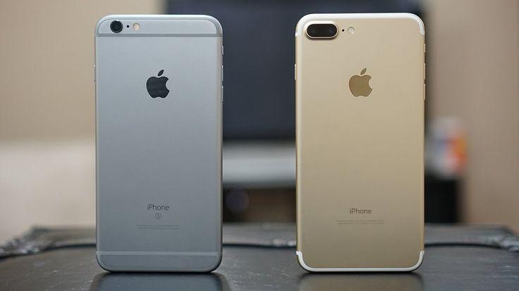 Iphone 7 Plus Vs Iphone 6s Plus One Is Similar One Is Better Iphone Iphone Comparison Iphone 7 Plus