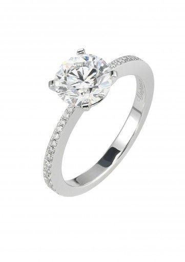 Chopard Ring A Lovely Diamond Vlertjie Vis In 2018 Rings Engagement