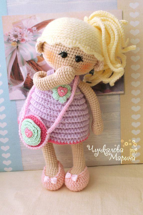Amigurumi Yorkie Free Crochet Pattern : Pumposhka doll PDF crochet doll pattern Patterns ...