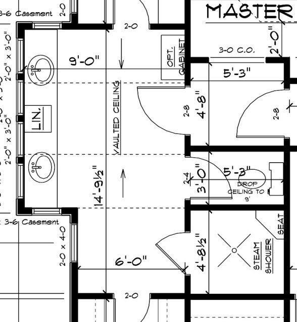 99+ Master Shower Dimensions - Interior Master Bathroom ...