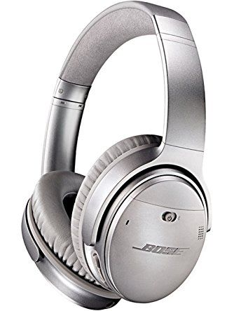 Bose QuietComfort 35 Wireless Headphones, Noise Cancelling - Silver ❤ Bose Corporation