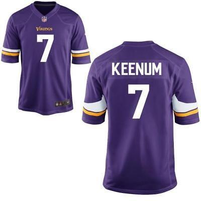 78da60648 Men 159109  Minnesota Vikings Case Keenum Purple Game Jersey -  BUY IT NOW  ONLY   31.5 on eBay!