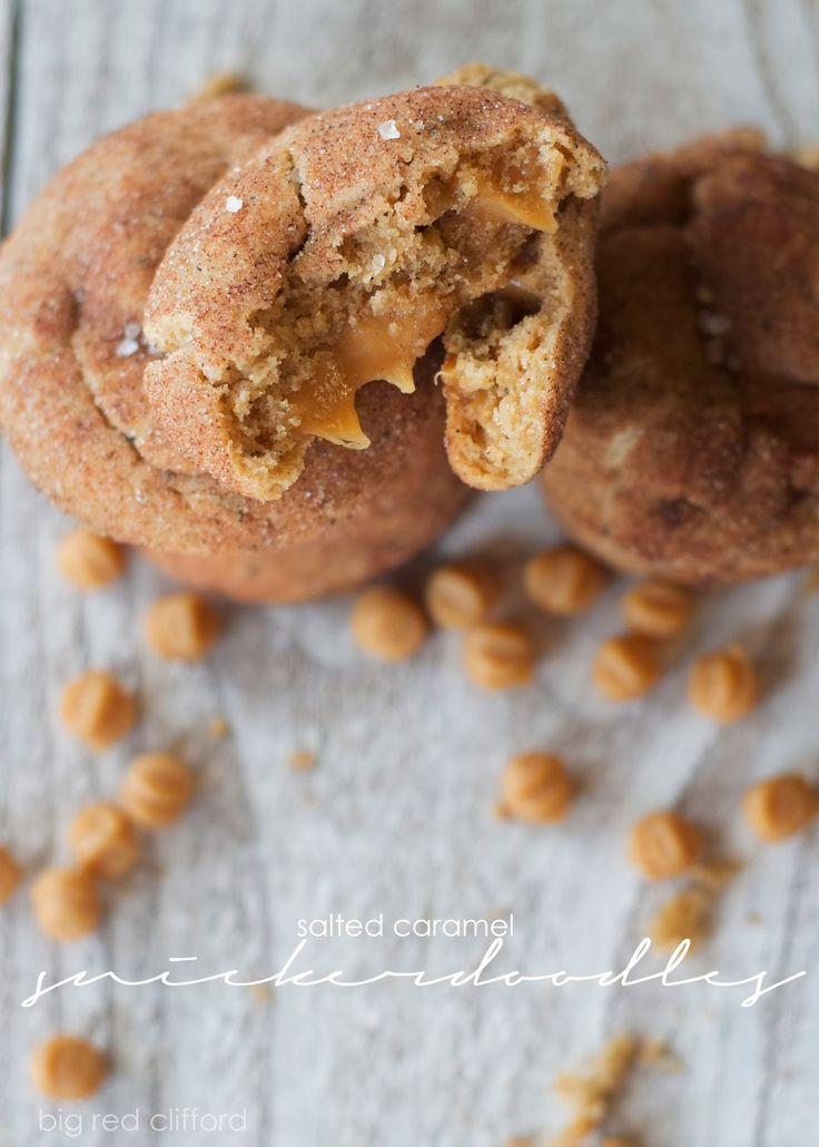 Salted caramel snickerdoodles-so yum
