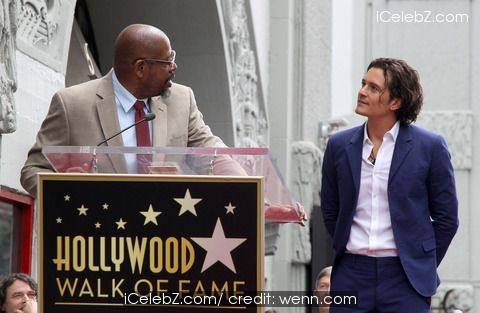 Forest Whitaker Orlando Bloom honored with a star on the Hollywood Walk of Fame http://www.icelebz.com/events/orlando_bloom_honored_with_a_star_on_the_hollywood_walk_of_fame/photo2.html