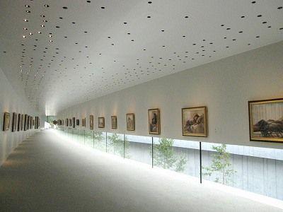 ホキ美術館:内観 | 弐代目・青い日記帳