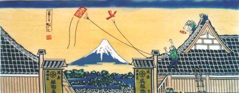 富士山 - 風呂敷・手ぬぐいセレクトショップ|つるかめ