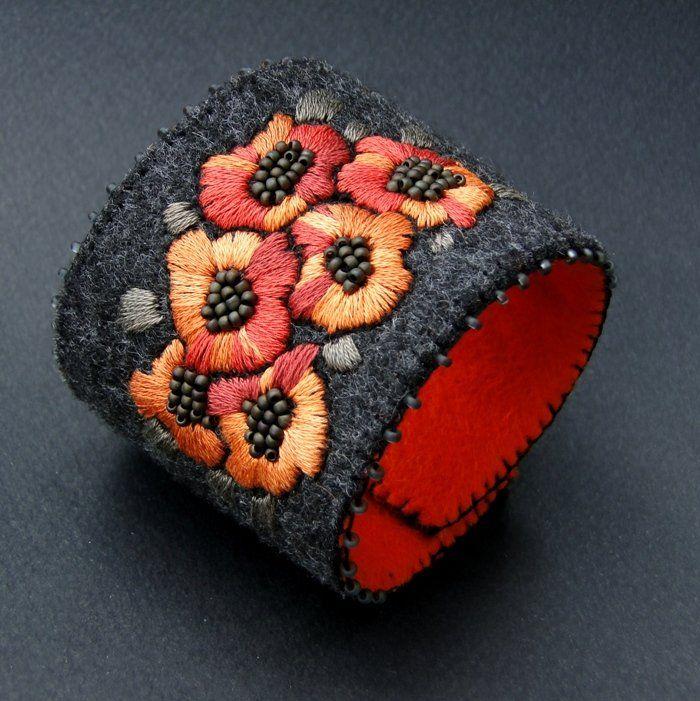 million bells  orangegrey (sprzedawca: agat.handmade), do kupienia w DecoBazaar.com