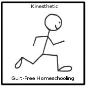 In-depth Description of KINESTHETIC Learning Style from Guilt-Free Homeschooling; includes teaching tips
