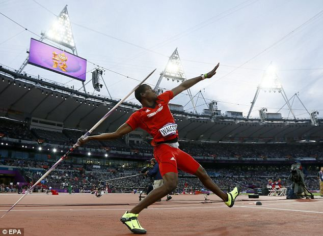 Olympic Javelin | ... teenager Walcott completes remarkable double by landing javelin gold