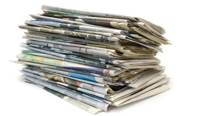 gjenbruk-av-gamle-aviser