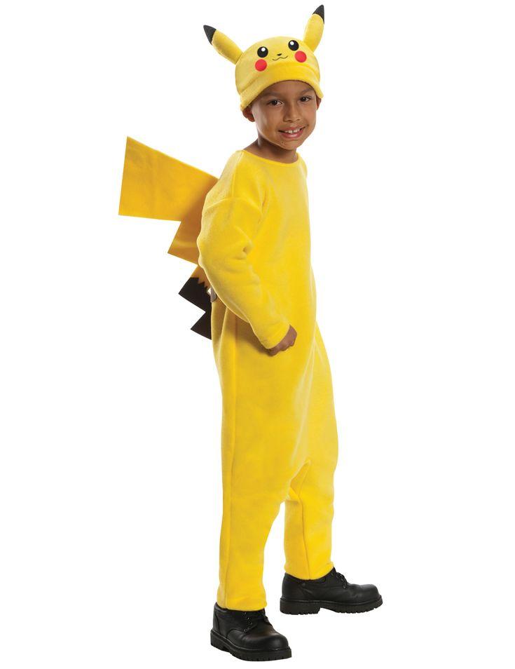 Déguisement Pikachu Pokémon™ enfant : Ce déguisement de Pikachu est sous licence officielle Pokémon™. Il se compose d'une combinaison douce imitation polaire avec une queue et un bonnet. La combinaison se ferme...