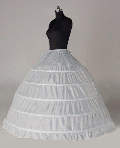 Best 25 bridal undergarments ideas on pinterest wedding 2013 new 6 hoop white petticoat wedding gown crinoline petticoat skirt slip junglespirit Choice Image