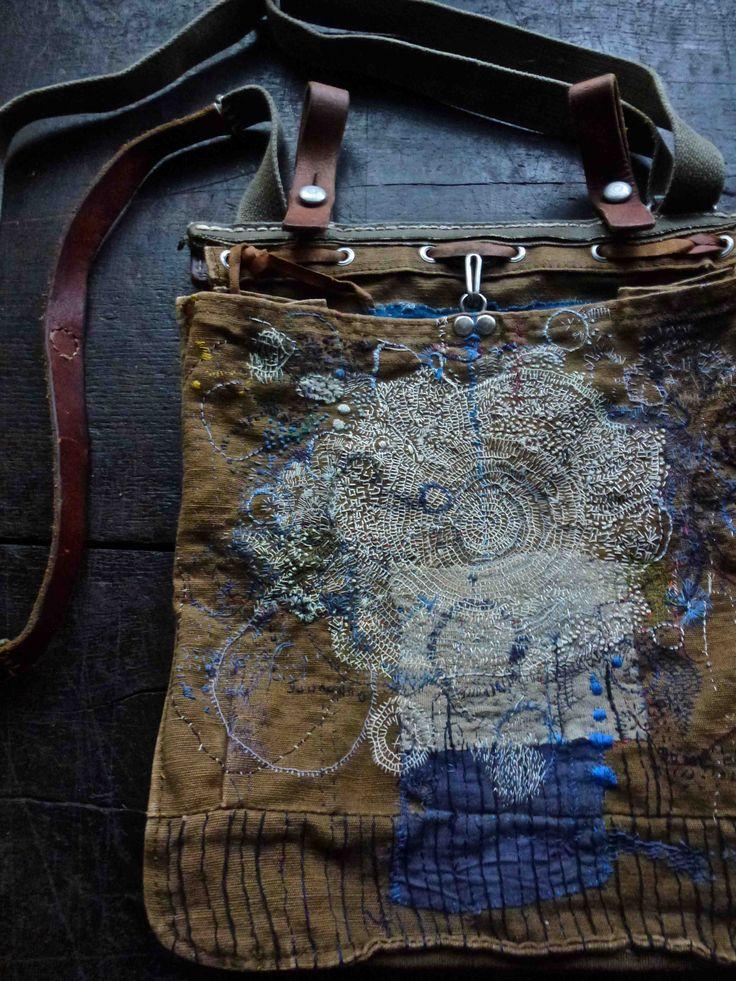bag / junko oki #japanesetextile #borotextiles