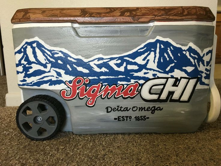 sigma chi beer fraternity cooler                                                                                                                                                                                 More