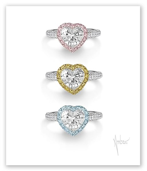 15 best Heart Shaped Diamond Engagement Rings images on Pinterest
