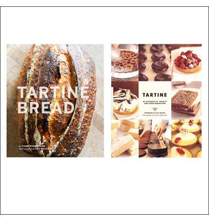 Cook books from TARTINE
