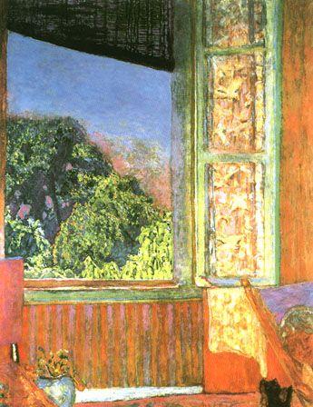 PIERRE BONNARD  The Open Window (1921)