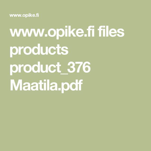 www.opike.fi files products product_376 Maatila.pdf