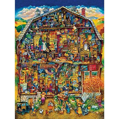 Antique Barn Puzzle From Bits Amp Pieces Catalog Puzzle