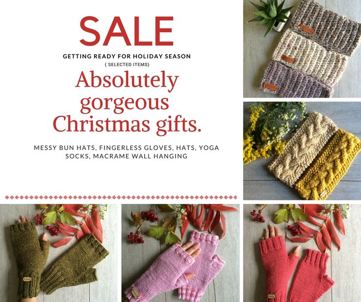 Getting ready for Holiday Season with Christmas gift shopping. Visit my shop for variety of Handcrafted unique items to keep you warm and cozy. Sale ends soon.