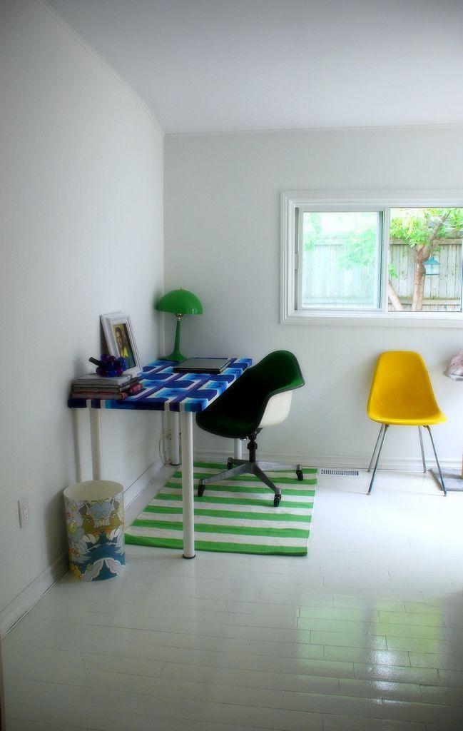 Retro Modest Home Office Workspace Design Vangviet Retro Modest Home Office Workspace Design Vangviet Clean M