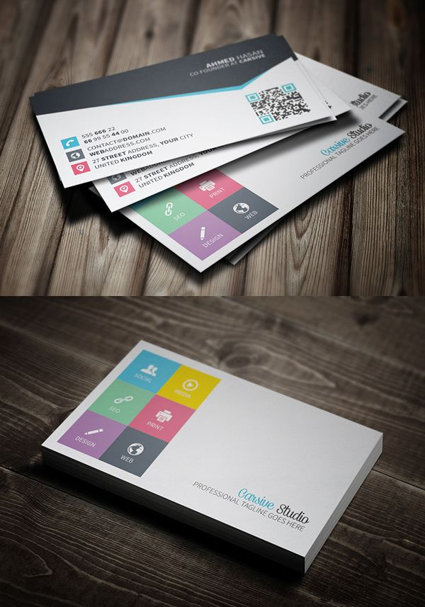 business cards design 25 creative examples 10 - Graphic Design Business Ideas