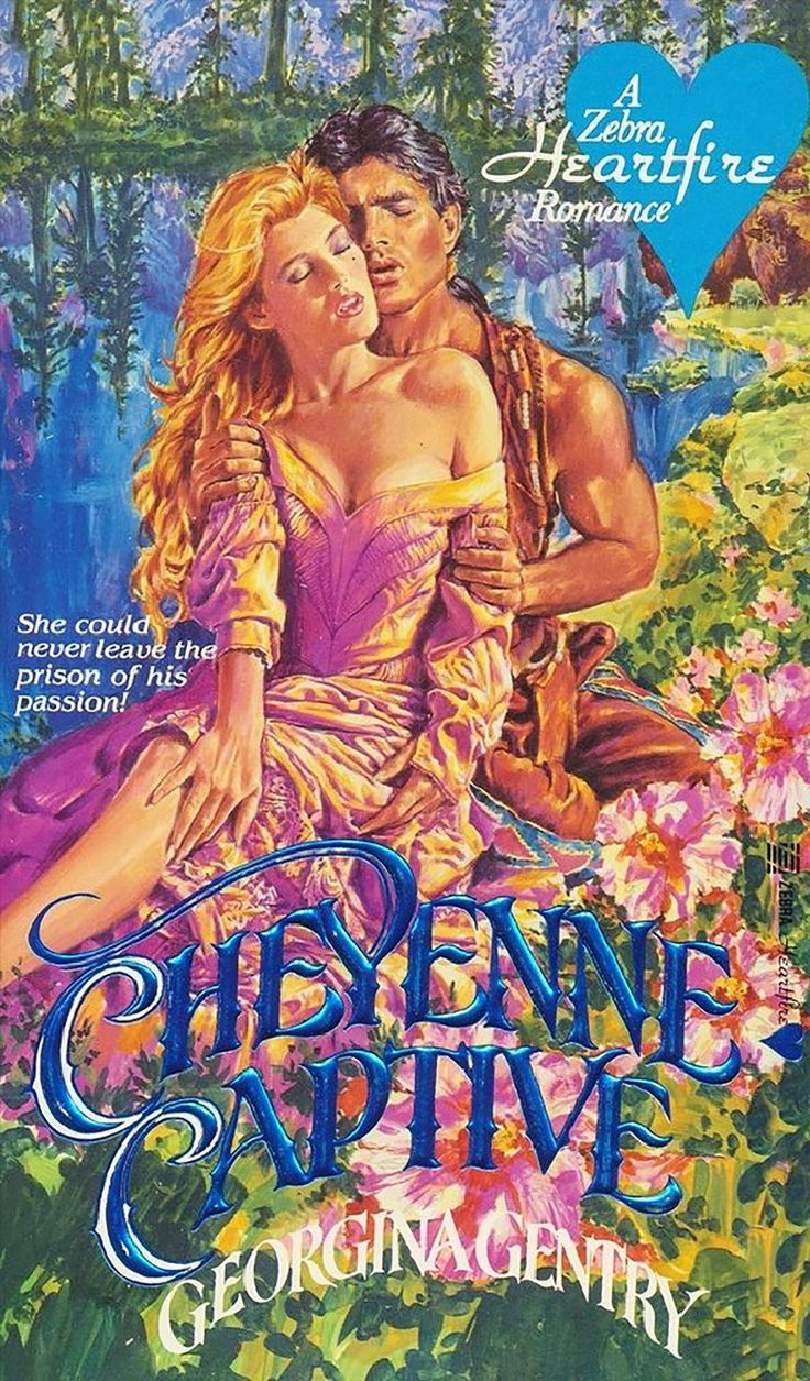 Cheyenne captive by gentry romance book covers