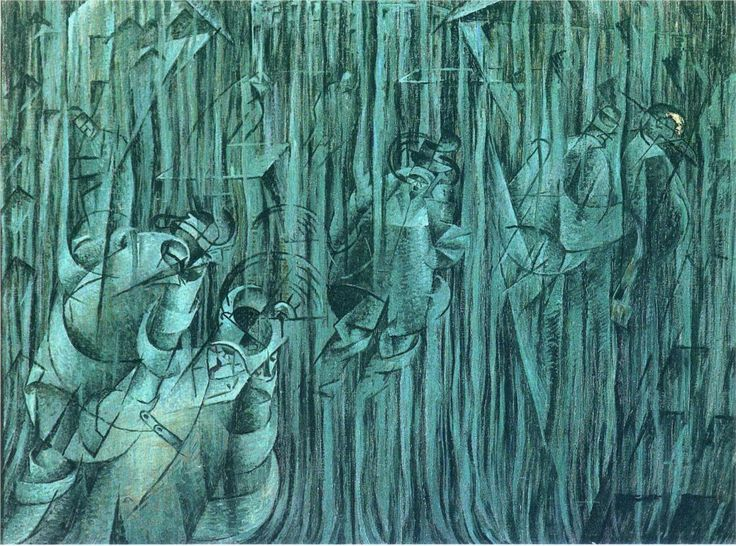 Umberto Boccioni - States of Mind III: Those Who Stay (1911)