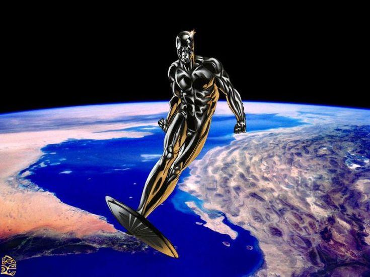 Fonds d'écran Comics et BDs Marvel Comics Silver Surfer