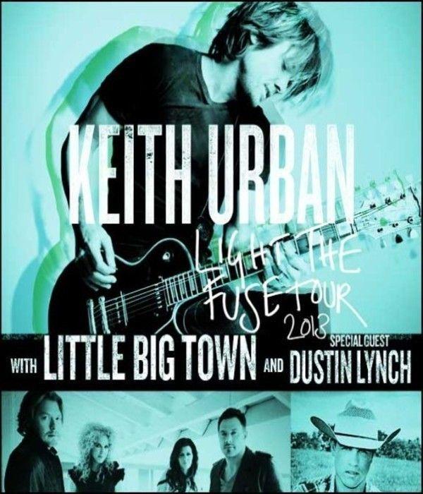 Jan 15 - Keith Urban -  Light The Fuse Tour