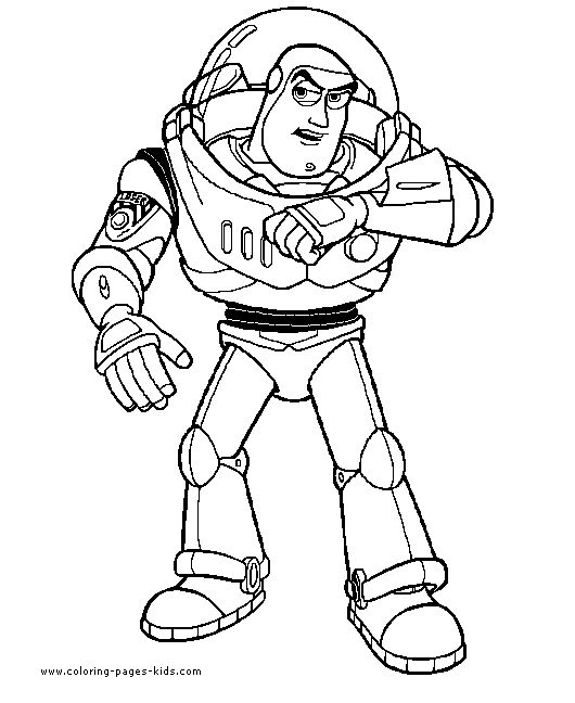 Toy Story coloring page disney