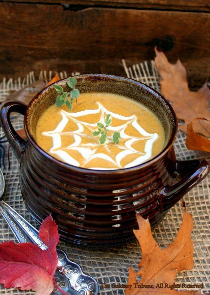 The Culinary Tribune › Pumpkin Curry Soup<br>カレー味パンプキンスープ