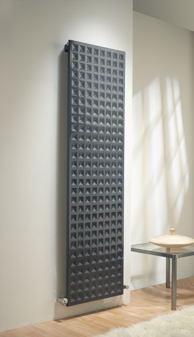 Vertical radiators don't have to be white and one dimensional