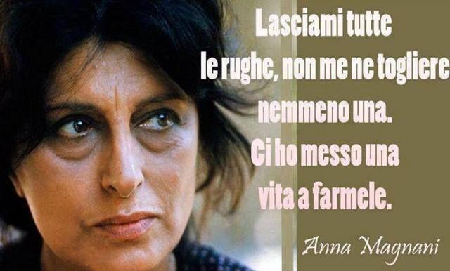 le rughe di Anna Magnani