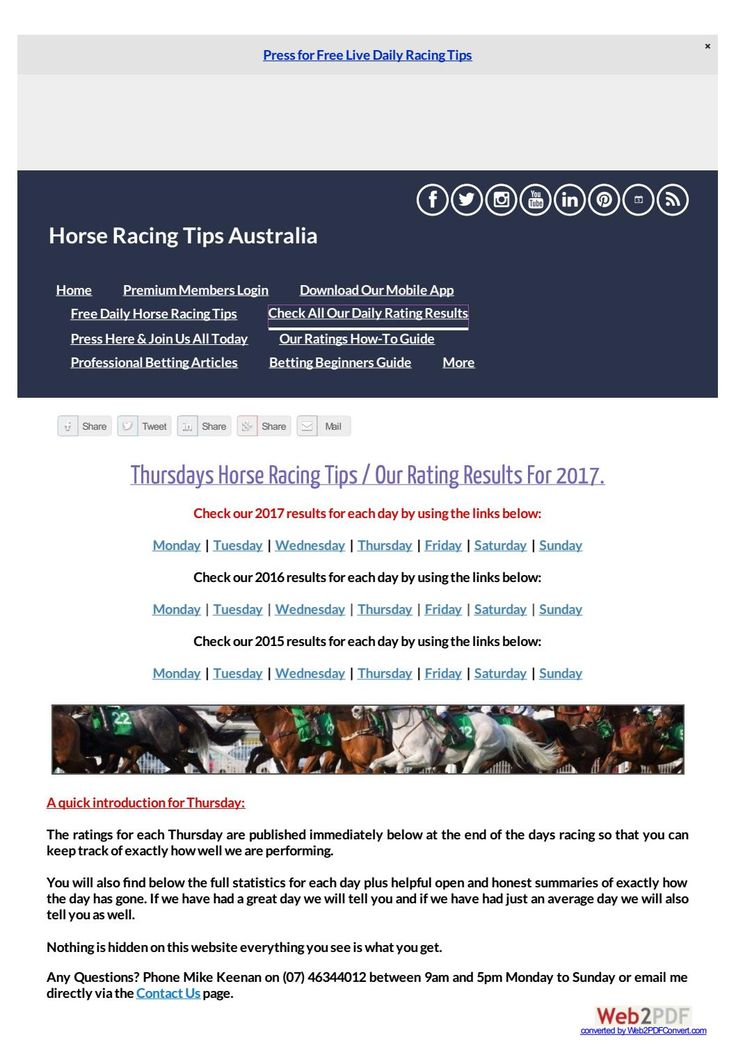 Thursdays November 16th Horse Racing Tips Today's Results