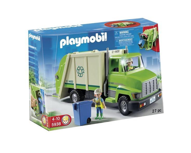 Legetøj til børn fra 3 år og op. Eksempelvis fra playmobil.