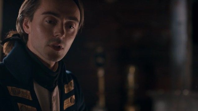 David Dawson as Captain Collins in Banished episode 2