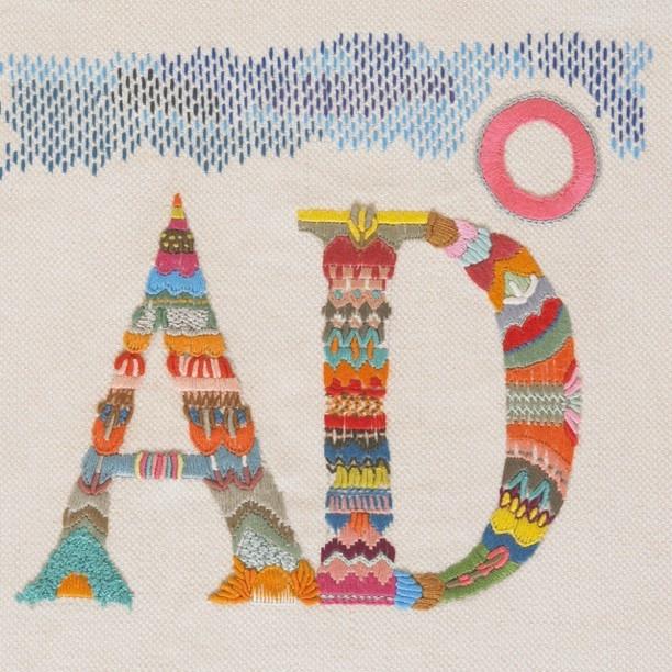YOLANDA ANDRES EMBROIDERY | funghi handmade
