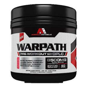 American Metabolix Warpath American Metabolix Warpath – Pre-Workout with GPLC Glycine Propionyl-L-Carnitine* Explosive Energy Technology* Advanced Pump Technology Micro Absorption System*  ...Get your American Metabolix Warpath today at TGB Supplements! We're open until 7 PM! #teamTGB