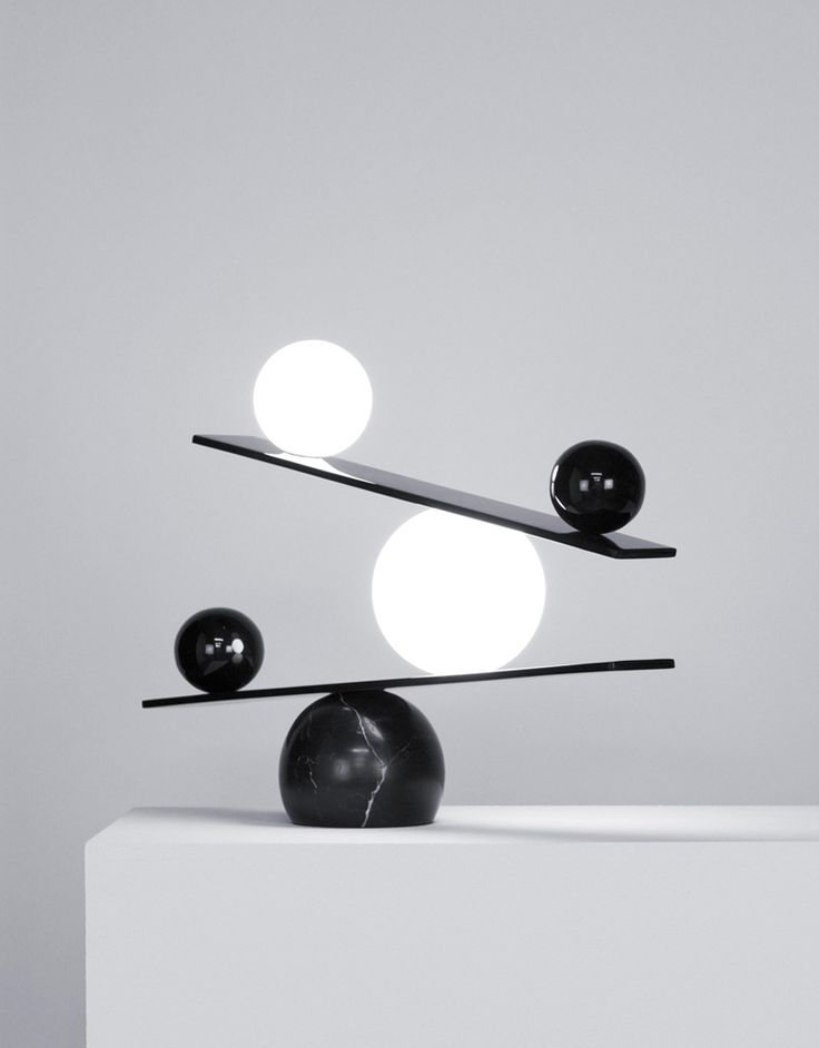 Balancing Lamp by Victor Castanera for Oblure | Yellowtrace