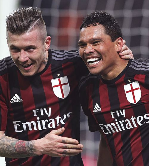 Carlos Bacca and Juraj Kucka