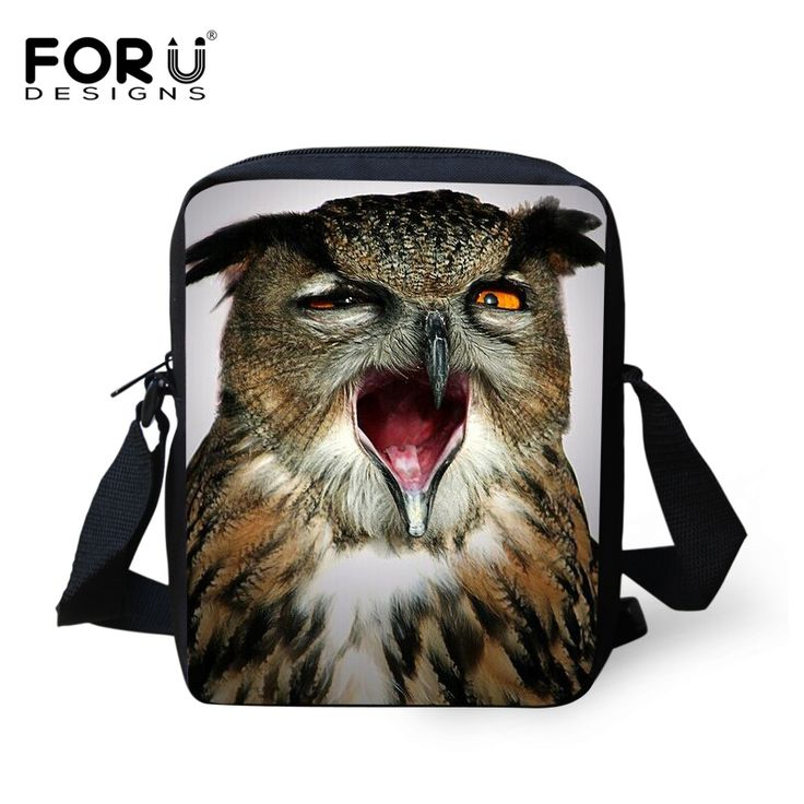 2016 Hot Sale Men Cross Body Shoulder Bags Zoo Animal Horse Owl Messenger Bags for Male Female Casual Men's Travel Small Bags //Price: $US $7.79 & FREE Shipping //     #bags