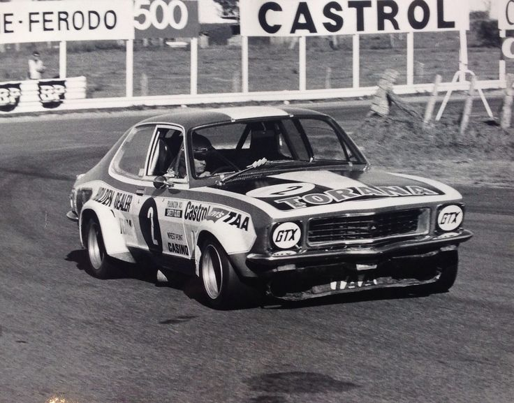 Colin Bond In the Beast. Murrays corner Bathurst Easter 1973