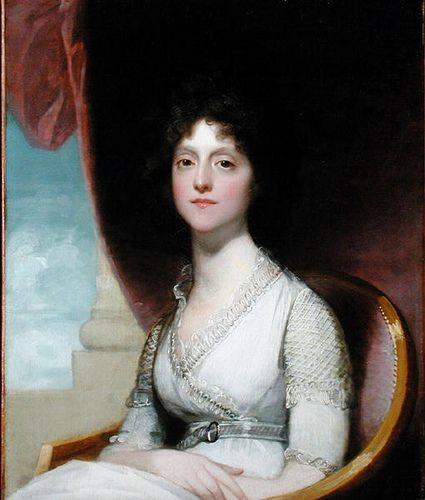 """""""Portrait of Marianne Ashley Walker,"""" by Gilbert Stuart 1799"""