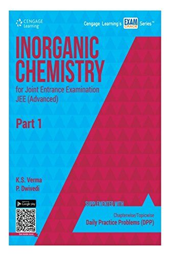 Inorganic Chemistry for Joint Entrance Examination JEE (Advanced) - Part 1