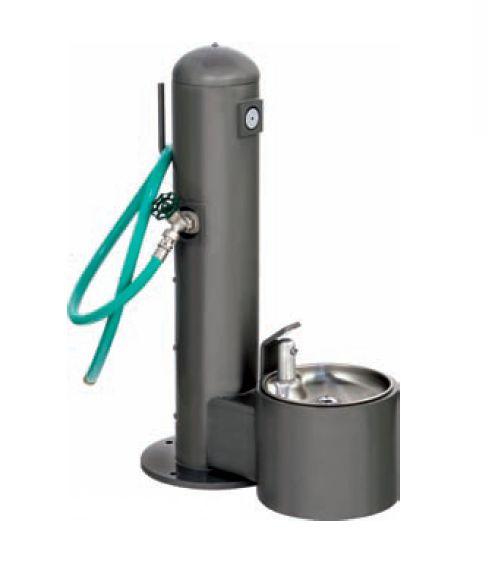 Pet Fountain w/ Washing Station | Dog Park Equipment