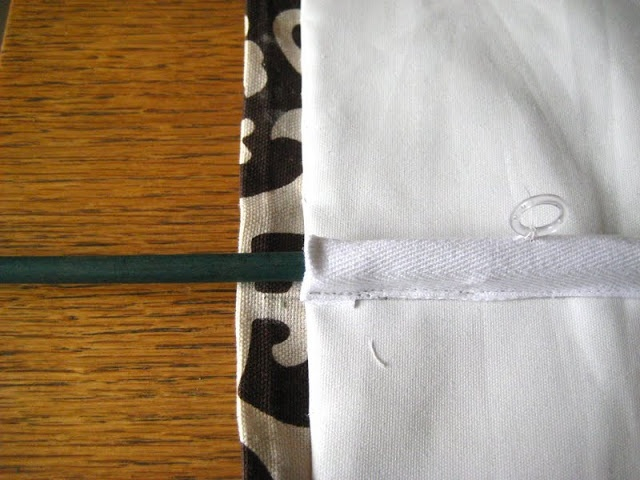 How to sew roman shades - DIY one of the most detailed-good for novice