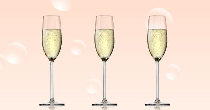 The bubbles in your champagne are a handy way to tell how good it is