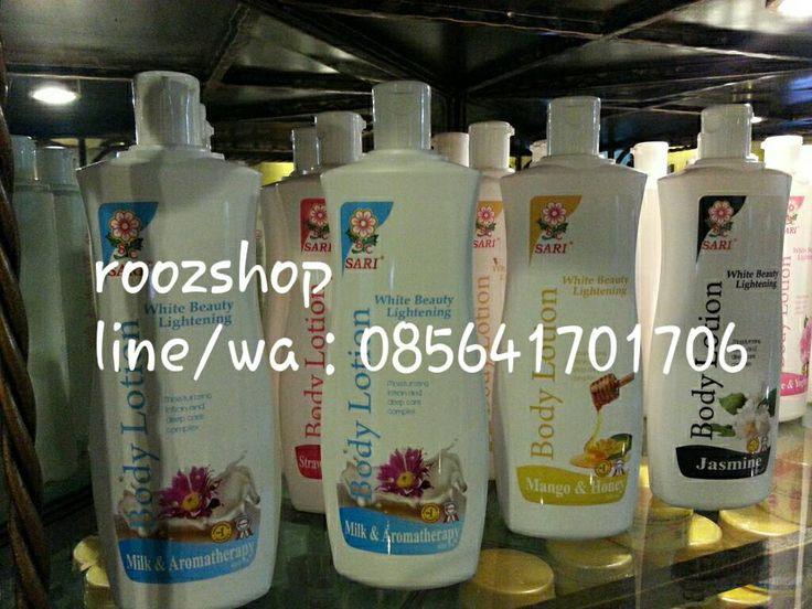 Jual White Beauty Lightening Body Lotion Sari Cosmetic, sari cosmetic dengan harga Rp 33.000,- dari toko online prelovedrooz, Jakarta. Cari produk body lotion lainnya di Tokopedia. Jual beli online aman dan nyaman hanya di Tokopedia.