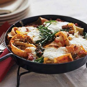 There's no excuse not to make this effortlessly easy #lasagna dish this week. #dinner #recipe